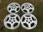 4 16 Nissan 300ZX OEM Factory Wheels Rims Silver Alloy 62260 B 1990 1996