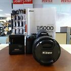 Used Nikon D5000 &18-135mm G Lens (17,993 actuations) - 1 YEAR GTEE