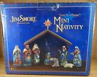 Jim Shore 2012 MINI NATIVITY 9 PIECE SET AWAY IN A MANGER