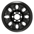 Reconditioned 17X75 Black Steel Wheel 2007 2013 Chevrolet Avalanche 560 08069