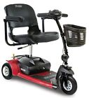 Pride Mobility Go Go Ultra X 3 Wheel Electric Battery Travel Scooter Red NEW