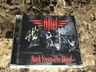 Steven Adler Rare Signed Back From The Dead CD Adler's Appetite Guns N' Roses +