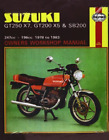 SUZUKI GT250X7, GT200X5 & SB200 T (UK IMPORT) BOOK NEW