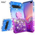 Bling Glitter Liquid Stand Phone Case Cover For Samsung Galaxy S8 S9 S10 Plus +