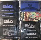 2018 TOPPS WWE 8 FACTORY SEALED HOT PACKS AUTO OR RELIC IN EACH 1 FROM HOBBY BOX