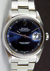 Rolex Datejust Stainless Steel Blue Index Dial 16200 Oyster - WATCH CHEST