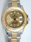 Rolex Lady Yachtmaster Gold & Steel Champagne Dial 169623 29mm - WATCH CHEST