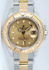 Rolex Lady Yachtmaster Gold & Steel Champagne Dial 69623 29mm - WATCH CHEST