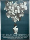 FELLINI SATYRICON MOVIE POSTER Orig 1970 Danish Release Federico Fellini Roma