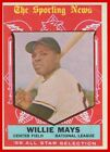 Vintage Willie Mays Baseball Card Timeline: 1951-1974 19