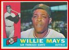 Vintage Willie Mays Baseball Card Timeline: 1951-1974 22