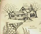 Stone Wall U get photo 2 RETIRED LKexamples ART IMPRESSIONS RUBBER STAMPS