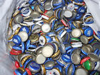 Lot Of Over 600 Mixed Used Beer Bottle Caps 3 lbs of Bottle Caps RED BLUE GREEN
