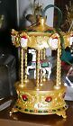 HALLMARK Keepsake Ornament Tobin Fraley Holiday Carousel Light & Music Untested