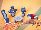 6pcs Set Tom And Jerry Figure Cartoon Silly Cat Carving Everyday Toys New #A