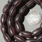 38 old antique venetian oval 2 layer fancy beads african trade 1767