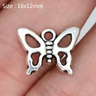 20 70 120Pcs Tibetan Silver Butterfly Charms Pendants Jewelry DIY Crafts 1612mm