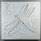 Dragonfly Texture Tile Plate Square Glass Fusing Mold Creative Paradise 10