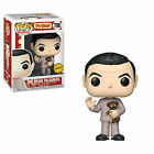 Funko Pop Mr. Bean Pajamas #786 CHASE Teddy Bear NIB w UP Protector