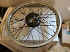 Kawasaki Ke125 Ke 125 Front Wheel Spindle And Brake