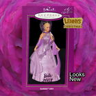 Hallmark Ornament, 2003 Barbie, Porcelain Club Exclusive, Looks New