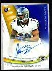 2013 Topps Platinum Football Rookie Autographs Short Prints and Guide 67