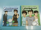 Questionable Content Webcomic Books Vol 1  2 Signed by Jeph Jacques