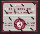 2015 Panini ALABAMA CRIMSON TIDE Hobby Sealed Box (24 Packs) (2) Auto or Jersey