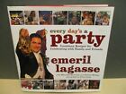 Emeril Lagasse cookbook Every Days a Party SIGNED first edition HB in DJ