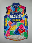 SMS SANTINI Sleeveless Cycling Jersey MAPEI Colnago WINDSTOPPER Italy Men NEW XL
