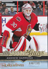 14-15 Upper Deck Update Andrew Hammond 100 UD Exclusives Young Guns Rookie 2014