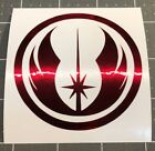 Star Wars Jedi Order Logo Vinyl Decal Sticker Pick Color Size Quantity Oracal