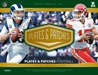 2018 Panini Plates & Patches Football Hobby 12-Box Case