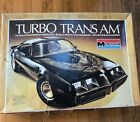 Vintage Monogram Turbo Trans Am 1/8 Scale Model Kit