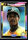 1992 Kenner Starting Lineup Cards #19 Rickey Henderson HTC 269