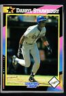 1992 Kenner Starting Lineup Cards #33 Darryl Strawberry HTC 278