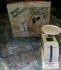 Vintage Weight Watchers Weights And Measures Kit Complete In Original Box