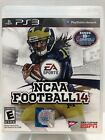 RARE NCAA FOOTBALL 14 PS3 PLAYSTATION 3 VIDEO GAME COMPLETE TESTED WORKS