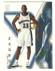 Top Michael Jordan Game-Used Washington Wizards Cards 27