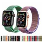 38/42/40/44/mm Nylon Sport Loop Band Strap for Apple Watch iWatch Series 4 3 2 1