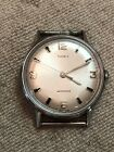 Vintage 1968 Timex Marlin Watch, Not Running, Nice Shape