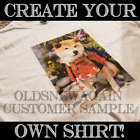 Create Your Own Personalized T Shirt Add Own Photo Image Kids Adult Sizes S 5XL