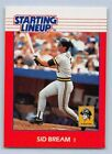1988  SID BREAM - Kenner Starting Lineup Card - PITTSBURGH PIRATES
