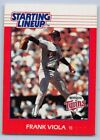 1988  FRANK VIOLA - Kenner Starting Lineup Card - MINNESOTA RWINS