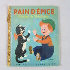 French Language Version Pat A Cake Little Golden Book Rare 1948