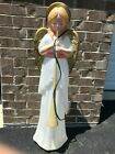 Vintage TPI Angel w Trumpet Horn 35 Outdoor Blow Mold Christmas Nativity