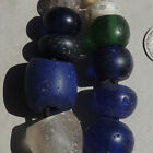 12 old antique dutch glass beads senegal mali african trade 1700s 42
