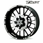 For YAMAHA TMAX  #style 1 Stripes Sticker Fashion wheel protector