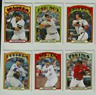 2019 TOPPS THROWBACK THURSDAY 72' YEAR STYLE SET 1972 1031 MADE ALONSO RILEY +++
