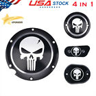 Skull Engine Derby Timer Chain Cover For Harley Sportster Iron XL 883 1200 48 72
